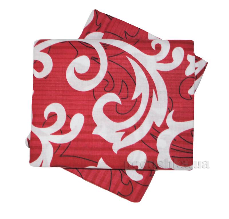 Комплект наволочек Вилюта 8630 красные с белым