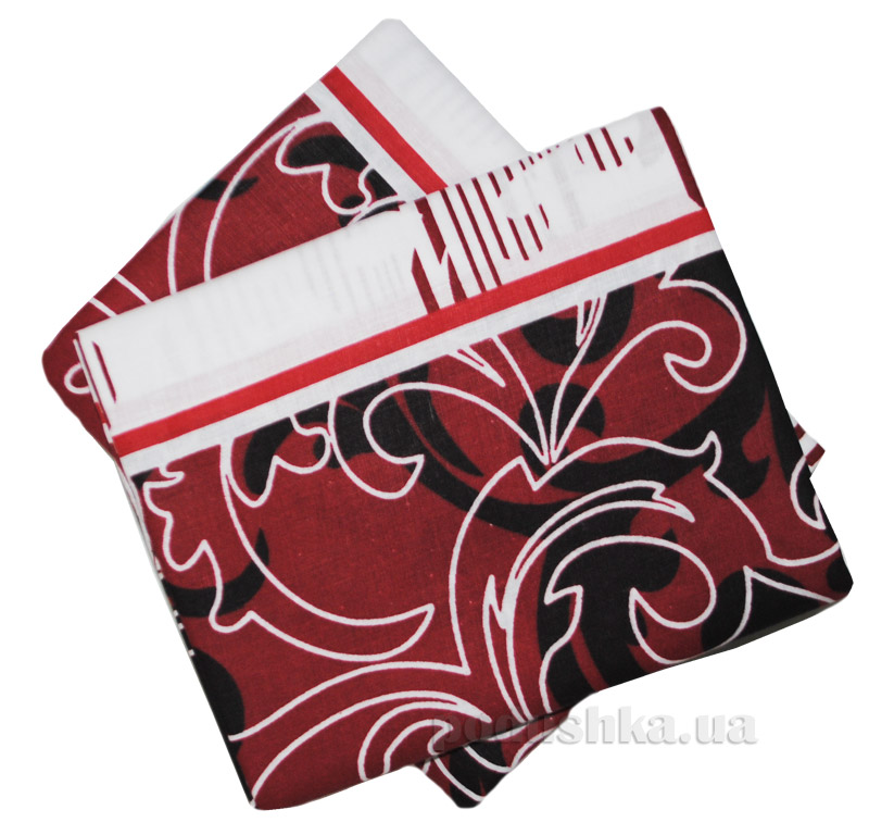 Комплект наволочек Вилюта 8630 красные с черным