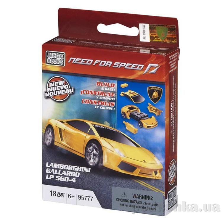 Need for Speed Автомобиль Lamborghini Gallardo LP 560 95777 Mega Bloks