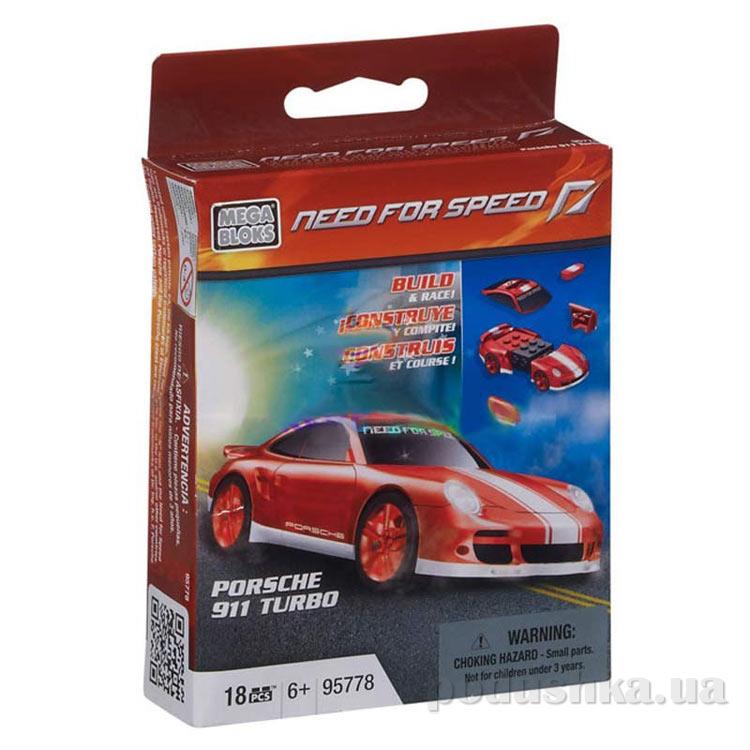 Need for Speed Автомобиль Porsche 911 Turbo 95778 Mega Bloks
