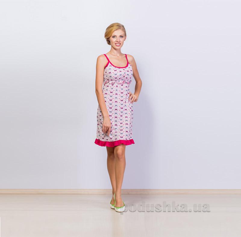 Ночная рубашка для женщин МТФ 838/3744 розовая