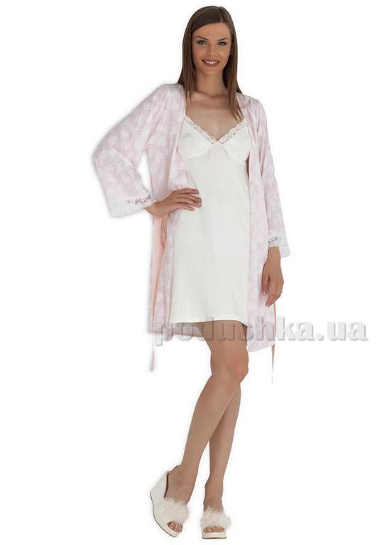 Ночная рубашка с халатом Hays 3013