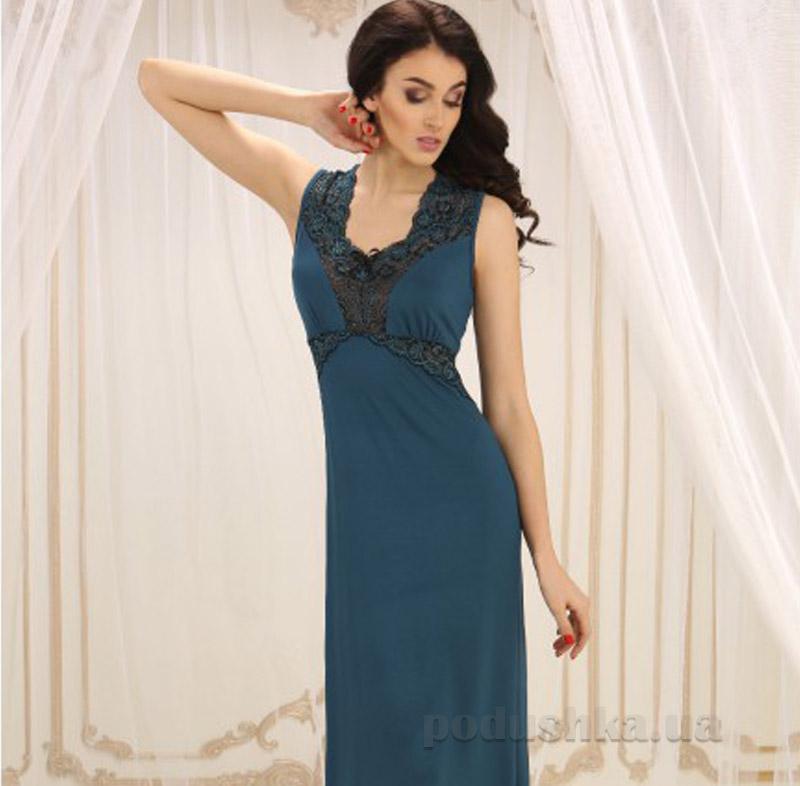 Ночная рубашка Violet delux НС-М-60 синий топаз