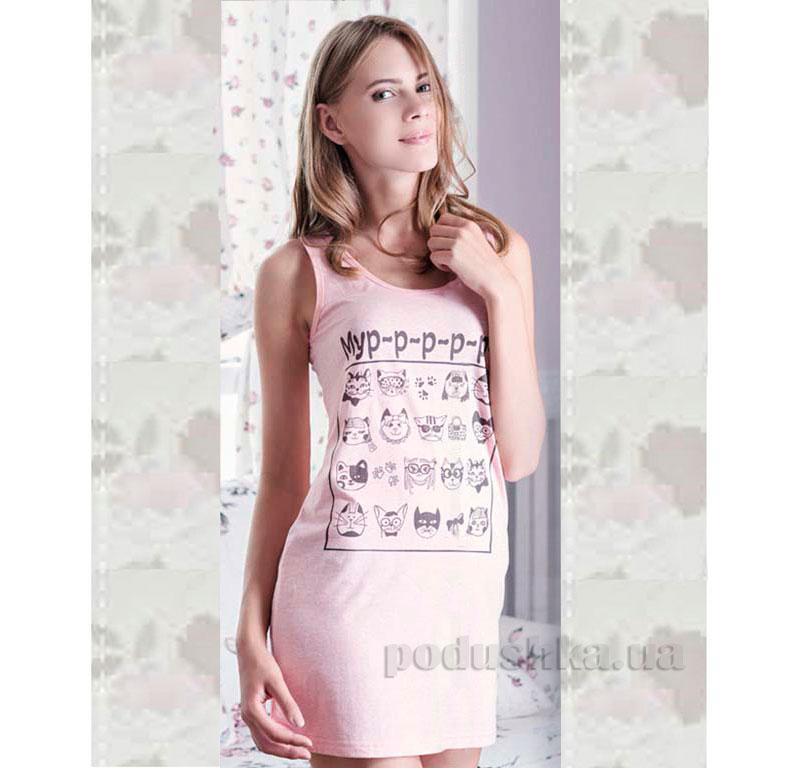 Ночная сорочка Ellen LND 046/001 перламутровая