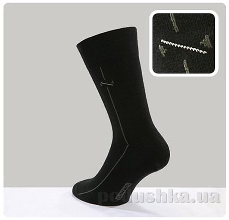 Носки 005 черные мужские Classic DiWaRi 5С-08СП
