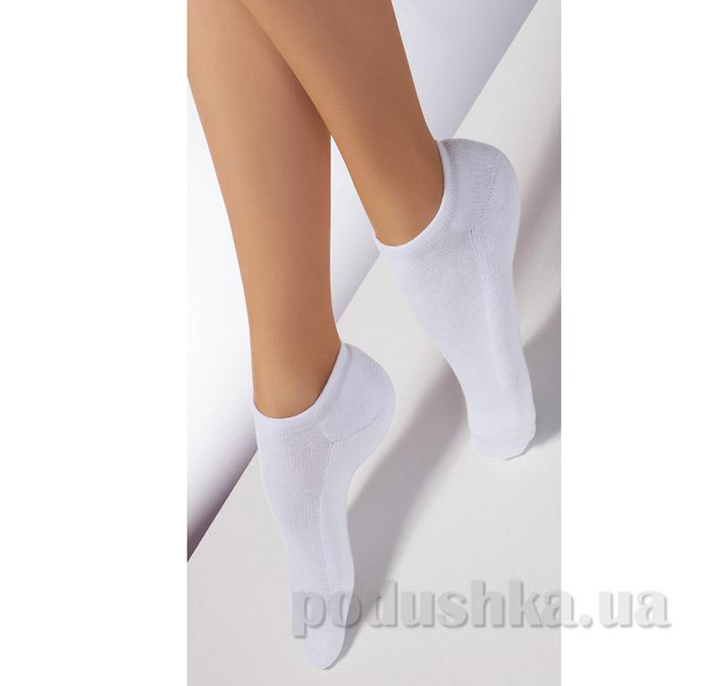 Носки белые махровые спортивные TS-01 Giulia bianco