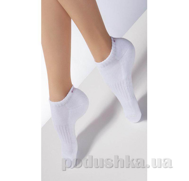 Носки белые махровые спортивные TS-03 Giulia bianco