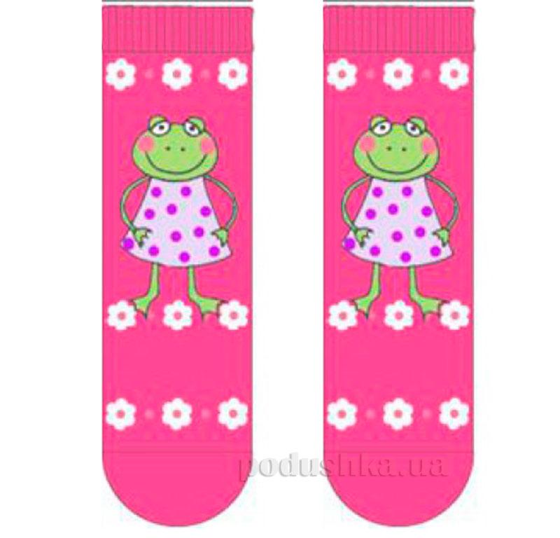Носки для девочек Кребо 2003-01 Лягушка