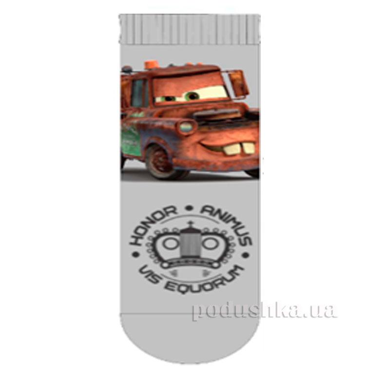 Носки для мальчиков Машинки Кребо 2008 серые