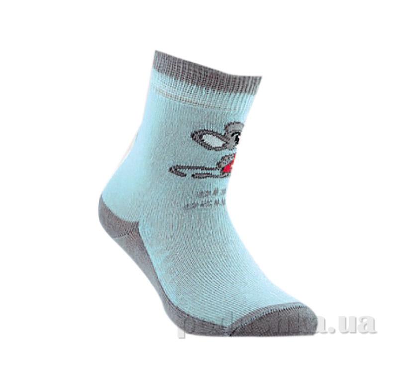 Носки для ребенка антискользящие Conte Tip-Top 7С-54СП 100 светло-голубые