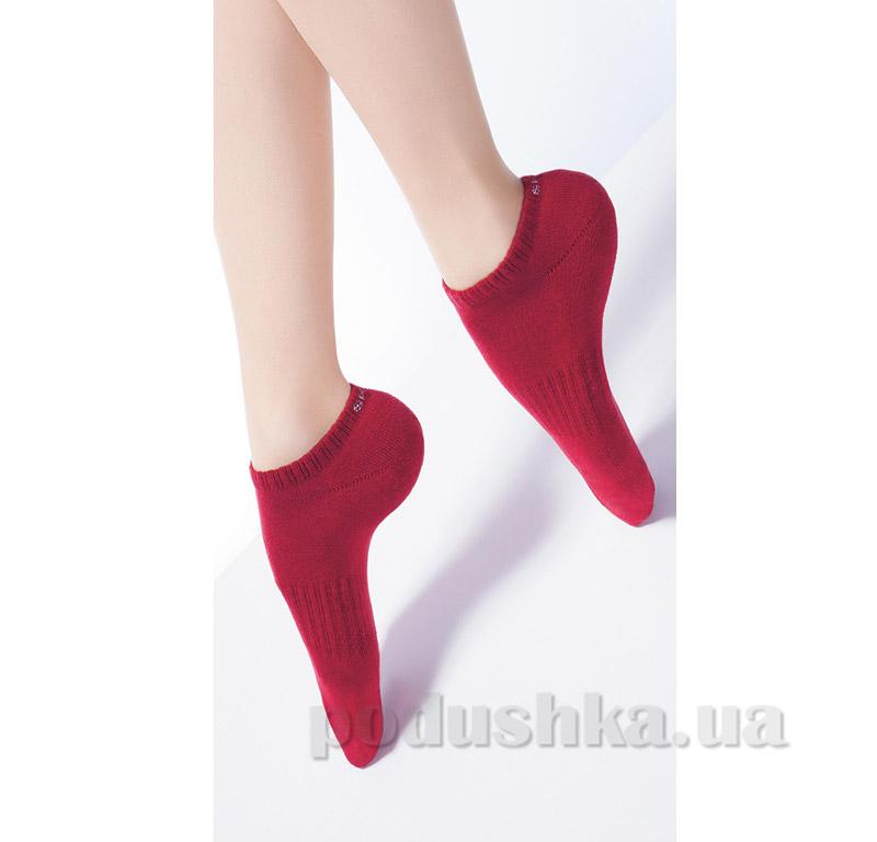 Носки красные махровые спортивные TS-03 Giulia rumba