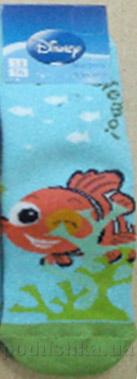 Носки махровые для мальчиков Кребо МД-05 Рыбка