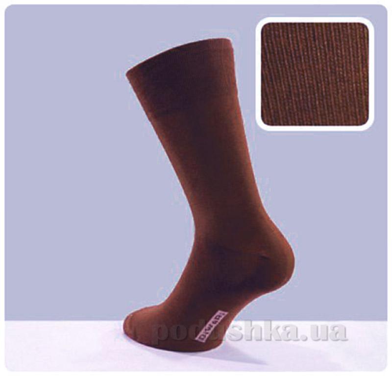 Носки мужские Classic DiWaRi 5С-08СП 000 темно-коричневые