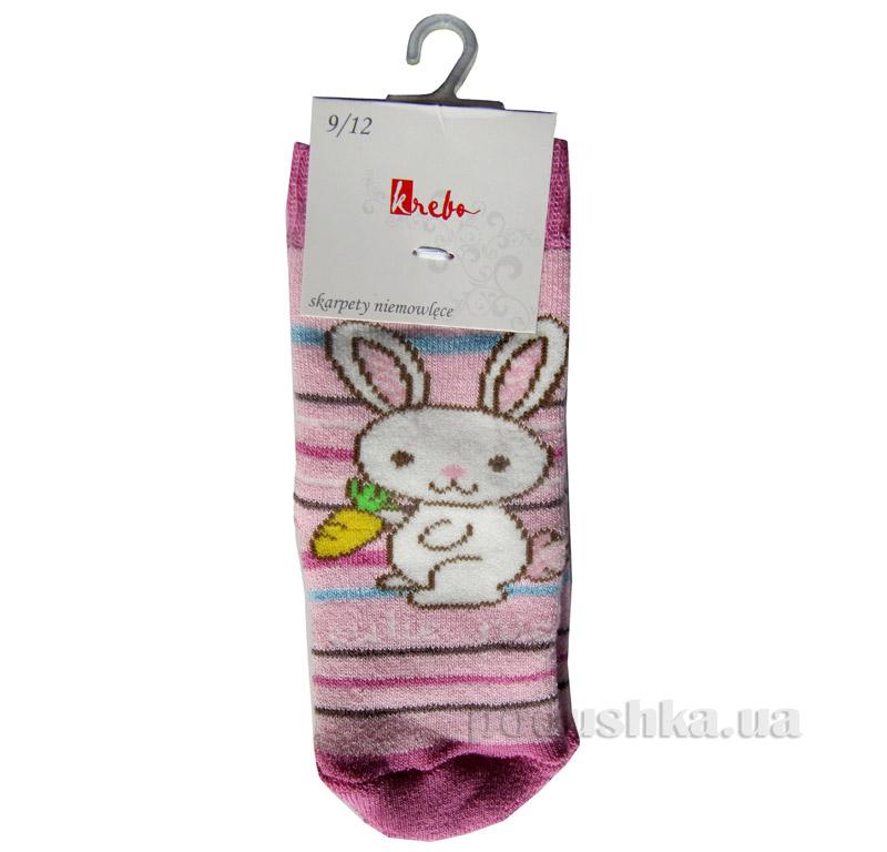 Носки с тормозами детские Махровые Кребо 1031-02-9-12