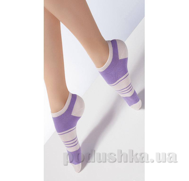 Носки спортивные женские CS-02 Giulia violet