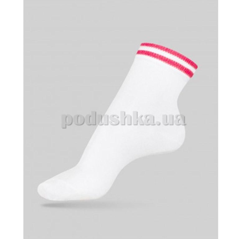 Носки женские Classic декор резинка Conte 7С-32СП 010 белые