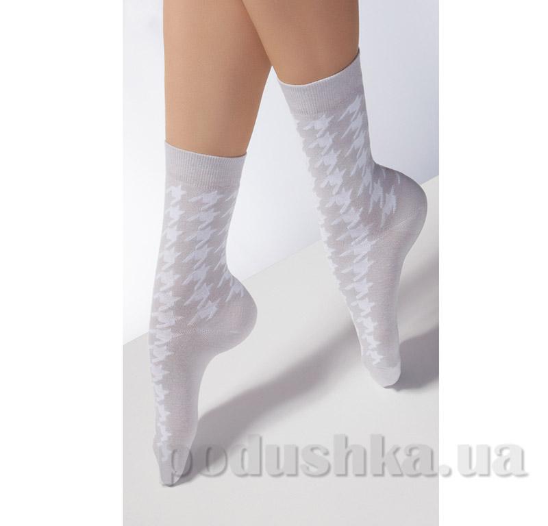 Носки женские с принтом гусиная лапка CG-08 Giulia down