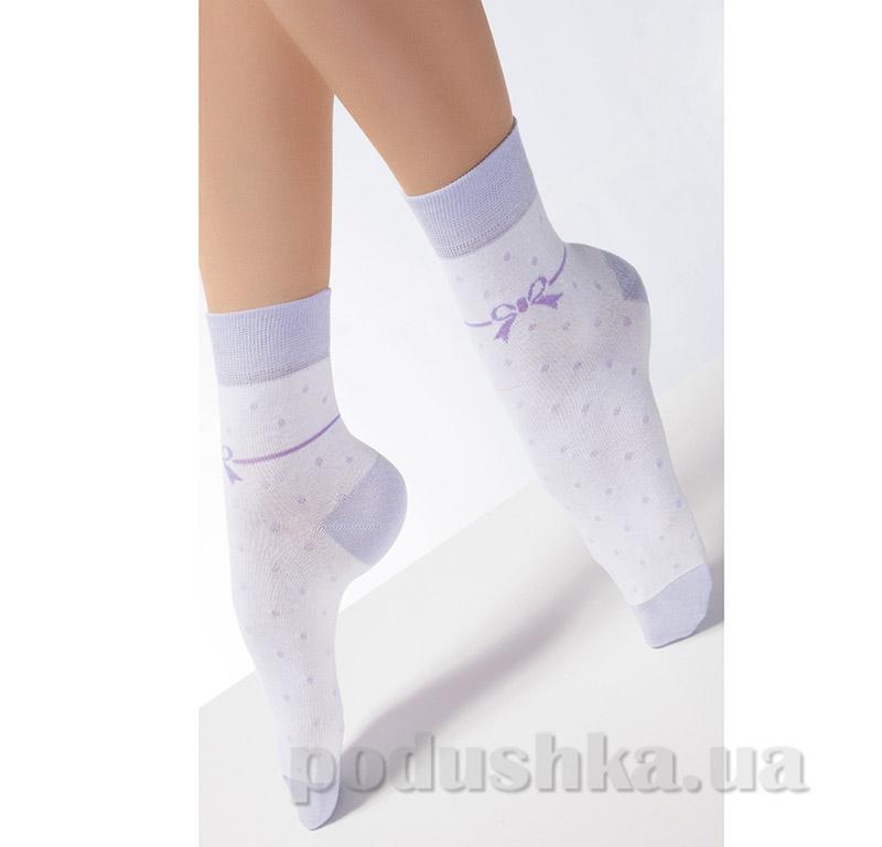 Носки женские с рисунком CF-03 Giulia violet