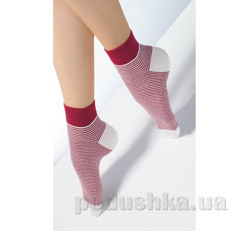 Носки женские в полоску CF-01 Giulia rumba