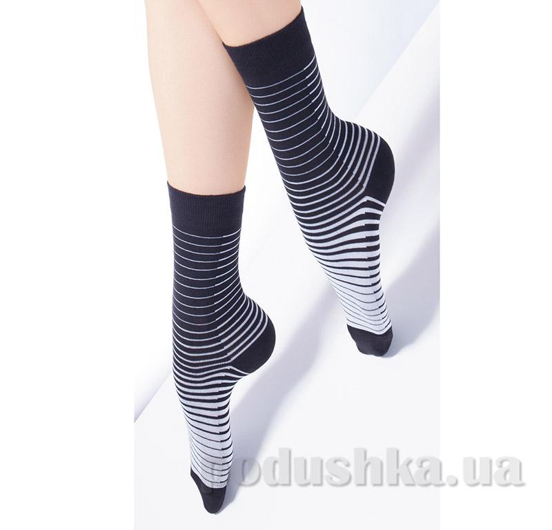Носки женские в полоску CG-03 Giulia nero