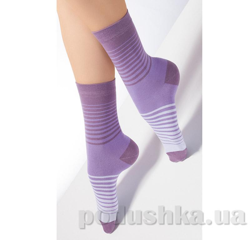 Носки женские в полоску CG-09 Giulia violet