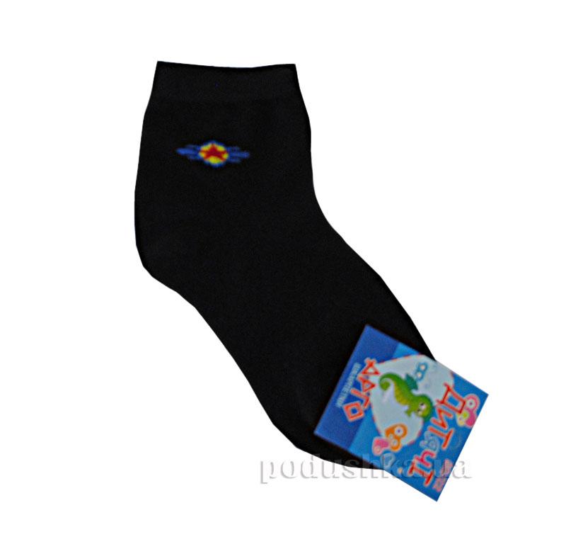 Носочки детские Арго Lycra черные с рисунком