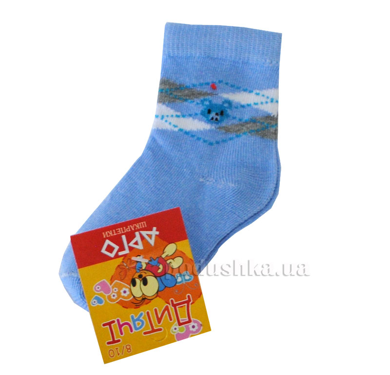 Носочки детские Арго Lycra светло-синий