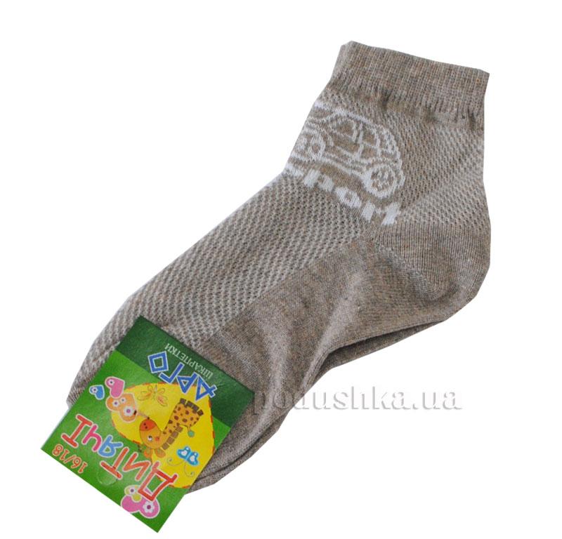 Носочки детские Арго Сетка светло-коричневые