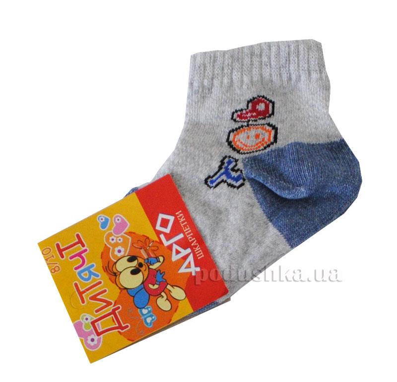 Носочки детские Арго Сетка светло-серые