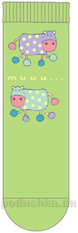 Носочки детские Кребо 1003-05 Коровки