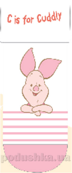 Носочки детские махровые Кребо 1032-03 Свинка