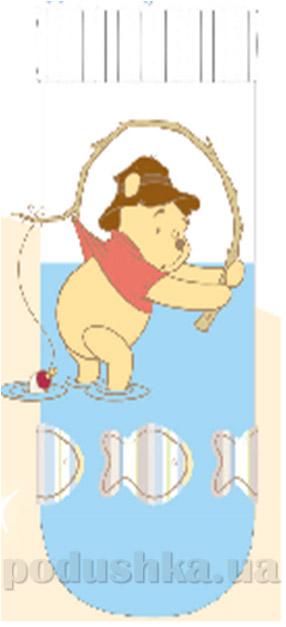 Носочки детские махровые Кребо 1032-07 Медвежонок