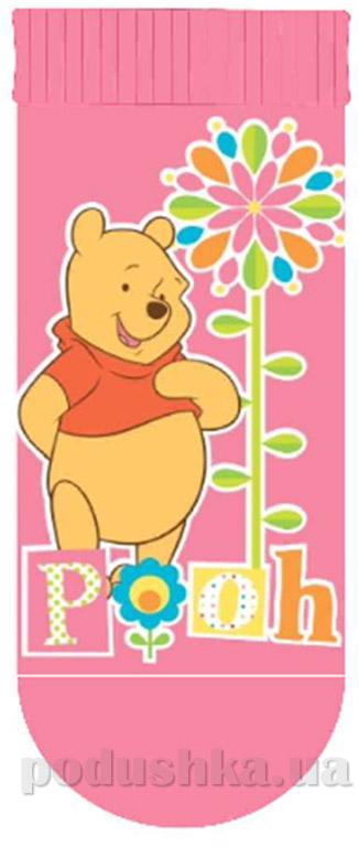 Носочки детские с тормозами Кребо 1061-01 Медвежонок