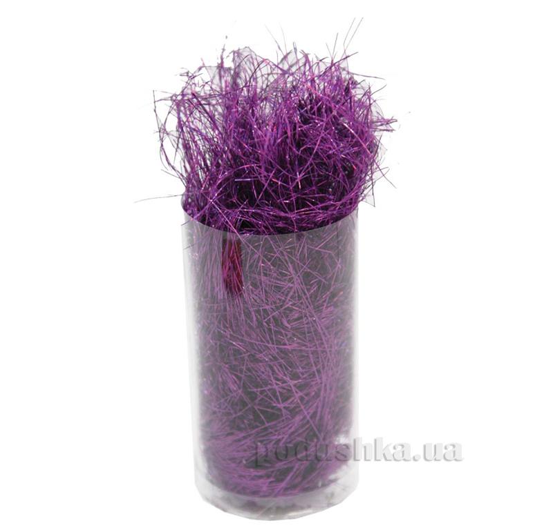Новогоднее украшение Волосы ангела пурпурные Новогодько 971829