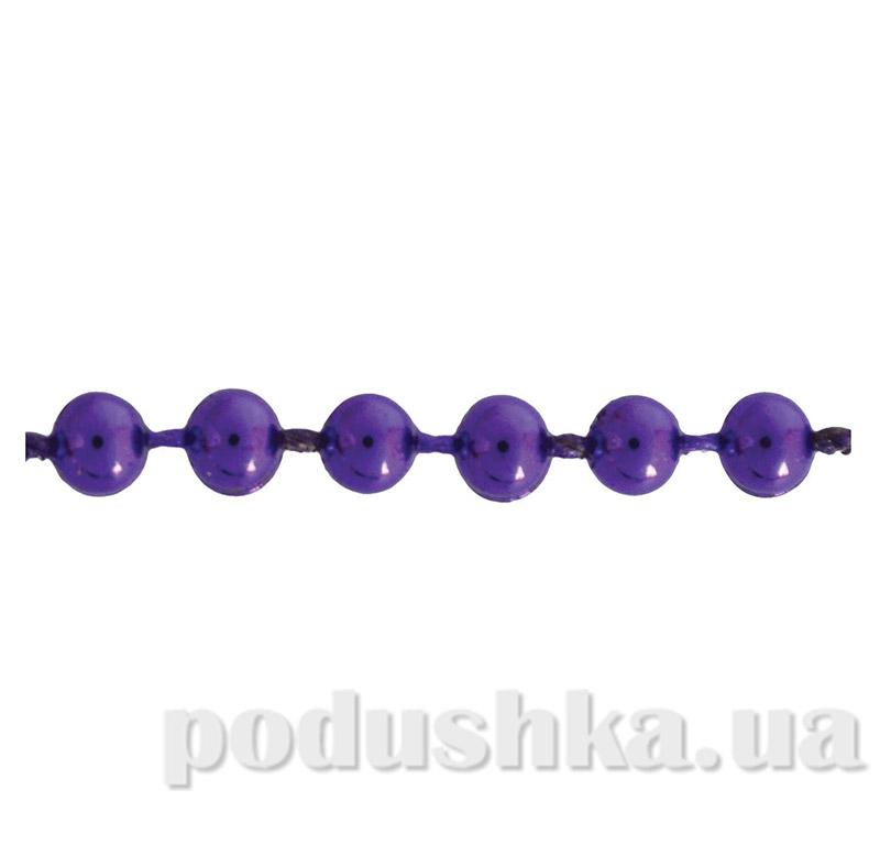 Новогодние бусы фиолетовые Новогодько