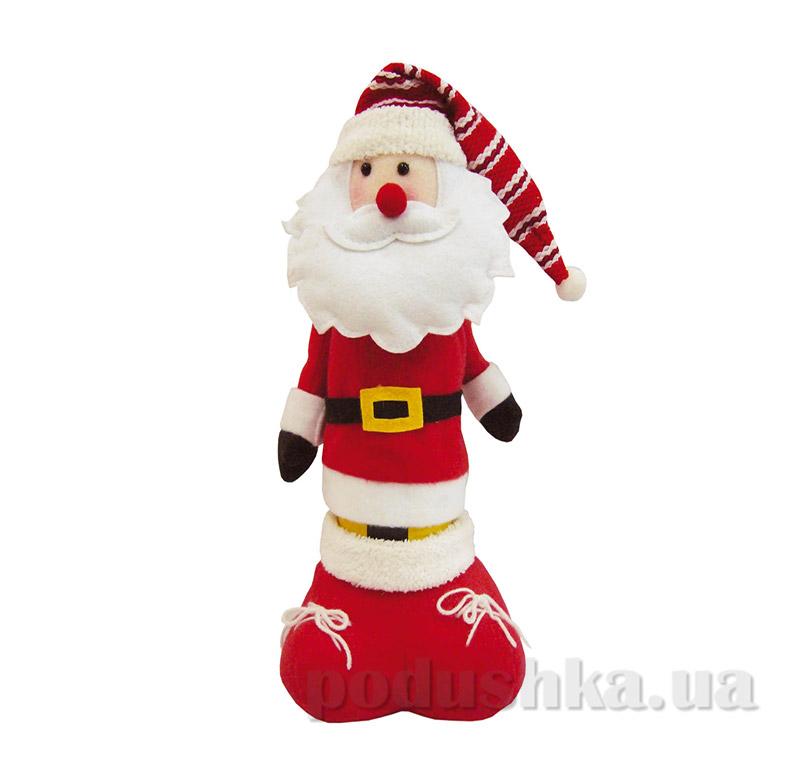 Новогодний чехол для вина Дед Мороз Новогодько 800943