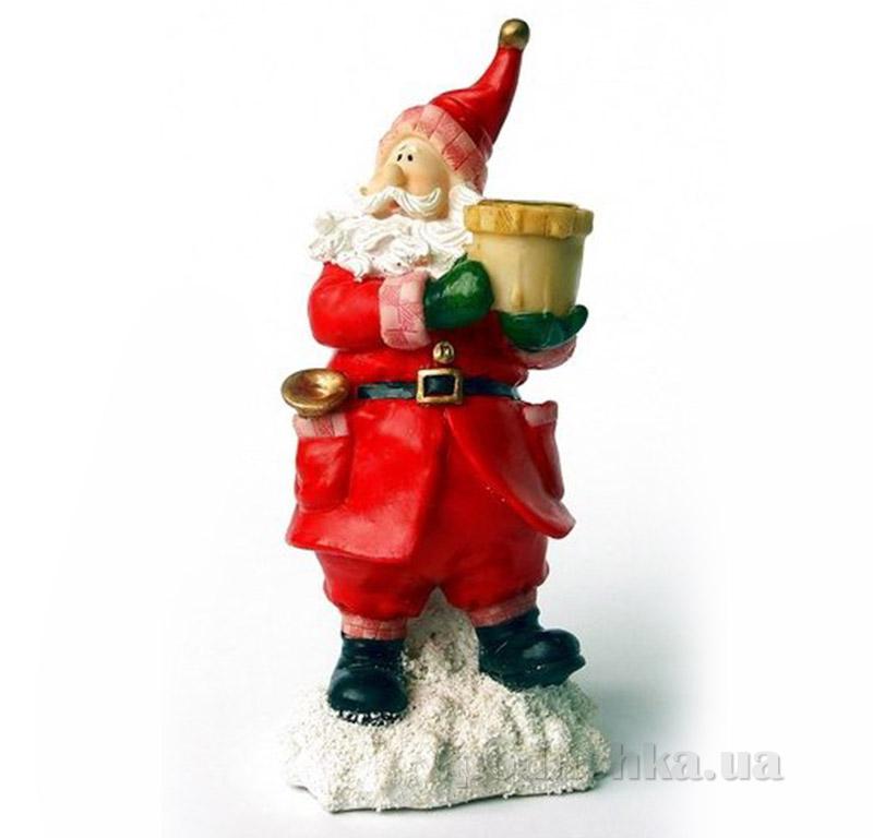 Новогодний подсвечник Дед Мороз Девилон 003055