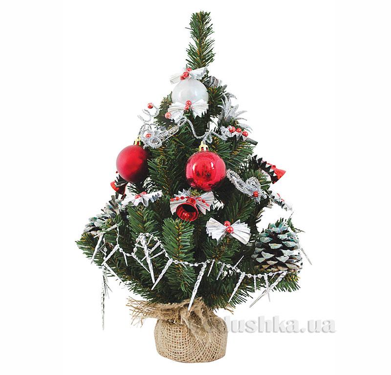 Новогодняя елка с украшением Бусинка Новогодько 960241