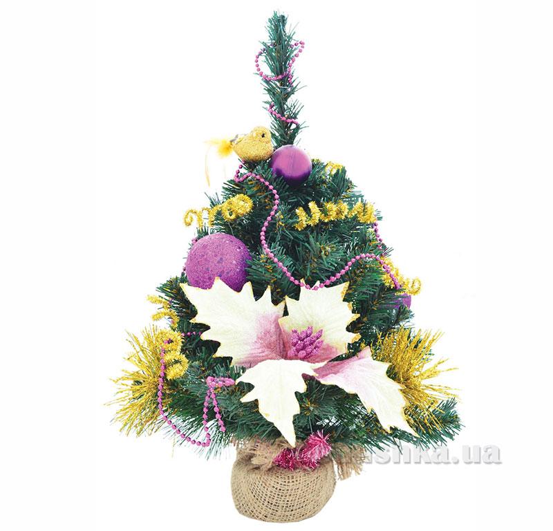 Новогодняя елка с украшением Жар Птица Новогодько 960257