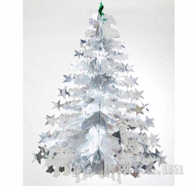 Новогодняя Елка серебряная Новогодько 800955
