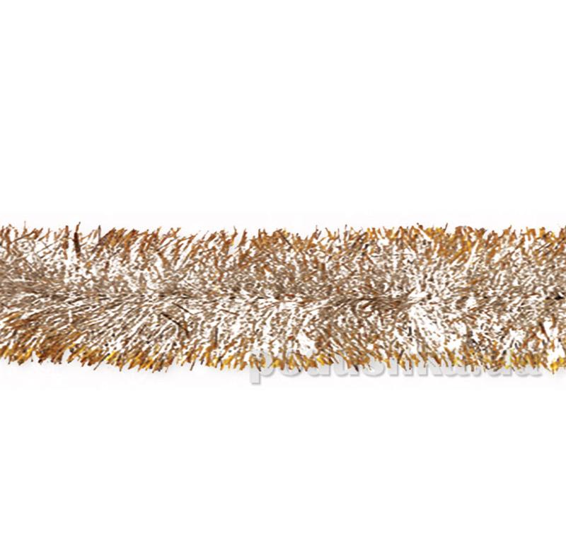 Новогодняя гирлянда золотисто-серебристая Новогодько 901962