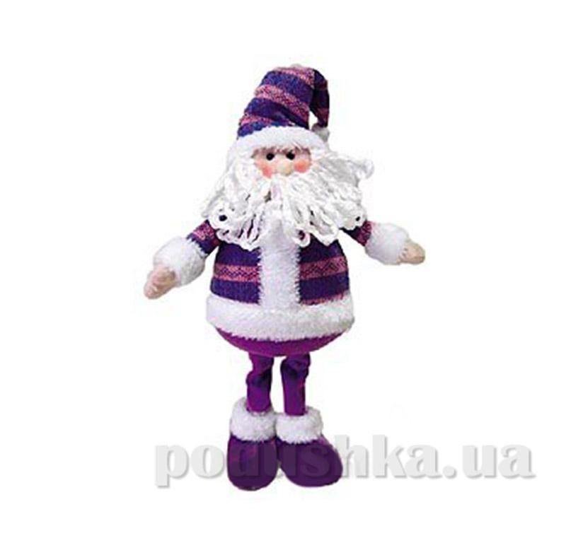 Новогодняя игрушка Санта Клаус Новогодько 800687