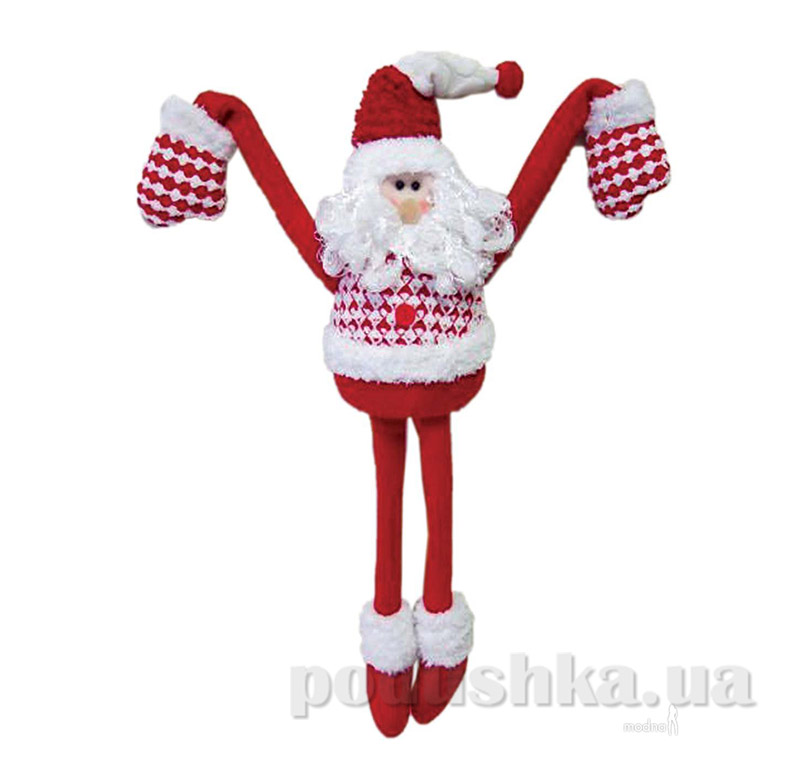 Новогодняя игрушка Санта Клаус Новогодько 800694