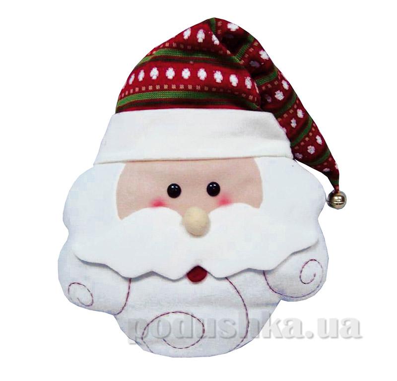 Новогодняя подушка Дед Мороз Новогодько 800968