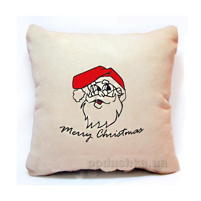 Новогодняя подушка Merry Christmas Slivki