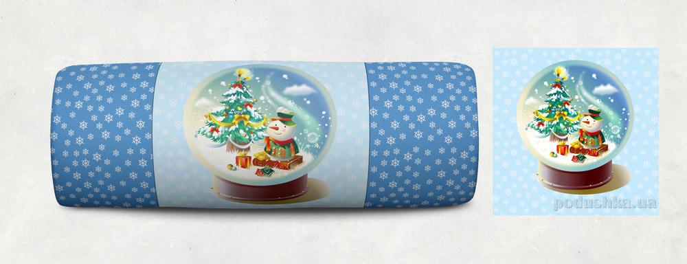 Новогодняя подушка Сказка 03 Izzihome