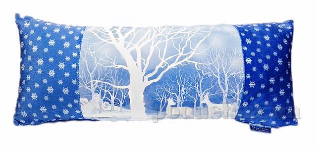 Новогодняя подушка Зимняя сказка Izzihome