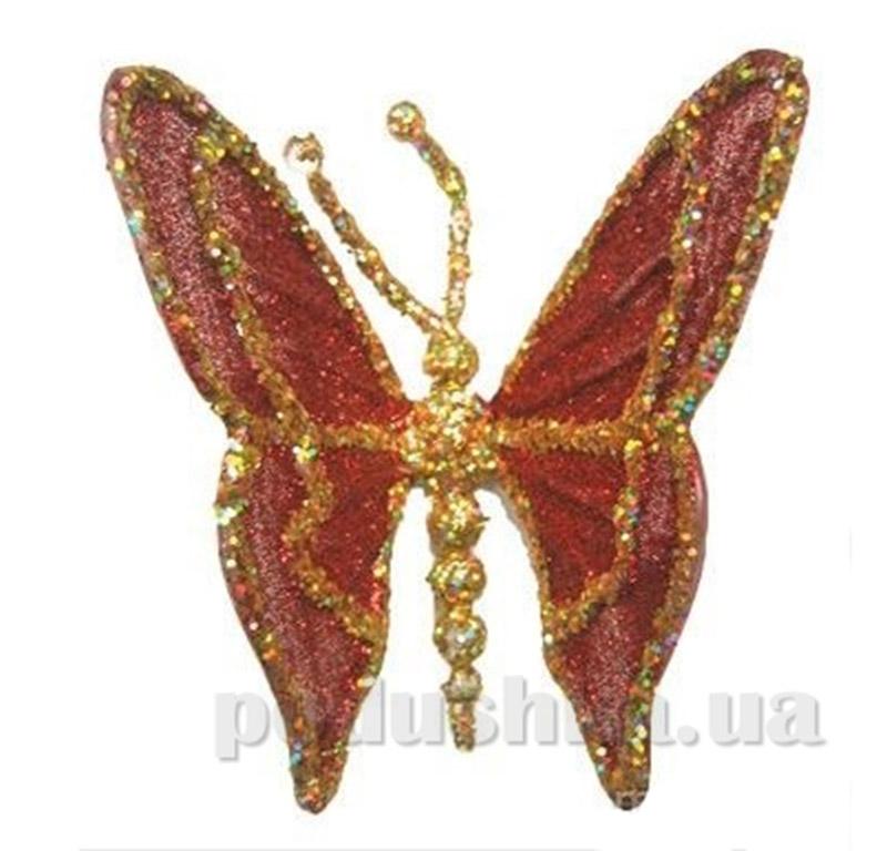 Новогодняя подвеска Бабочка Новогодько 960097