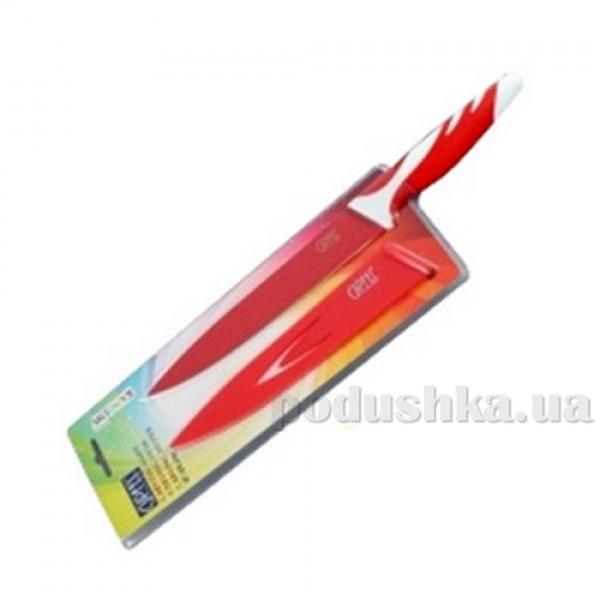 Нож Карвинг красный Gipfel RAINBOW