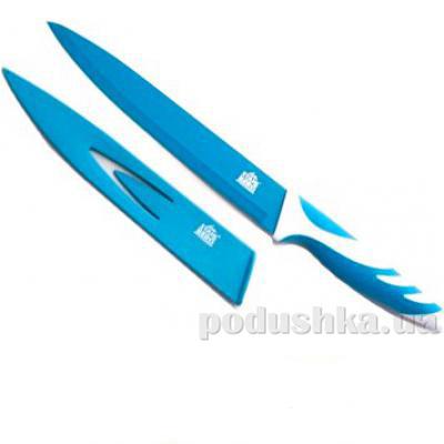 Нож Карвинг синий Gipfel RAINBOW